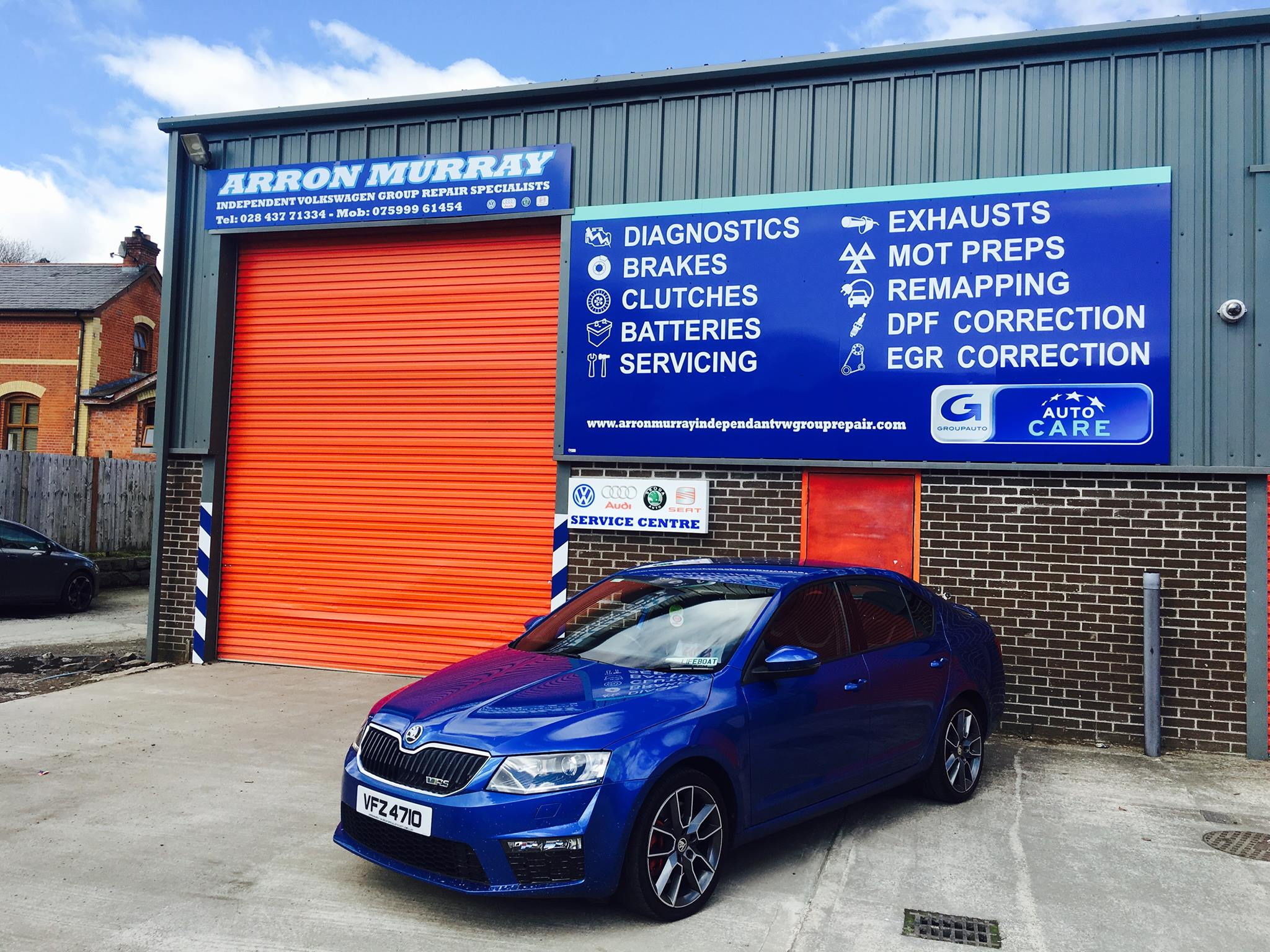 Arron Murray Car Repairs VW Specialist