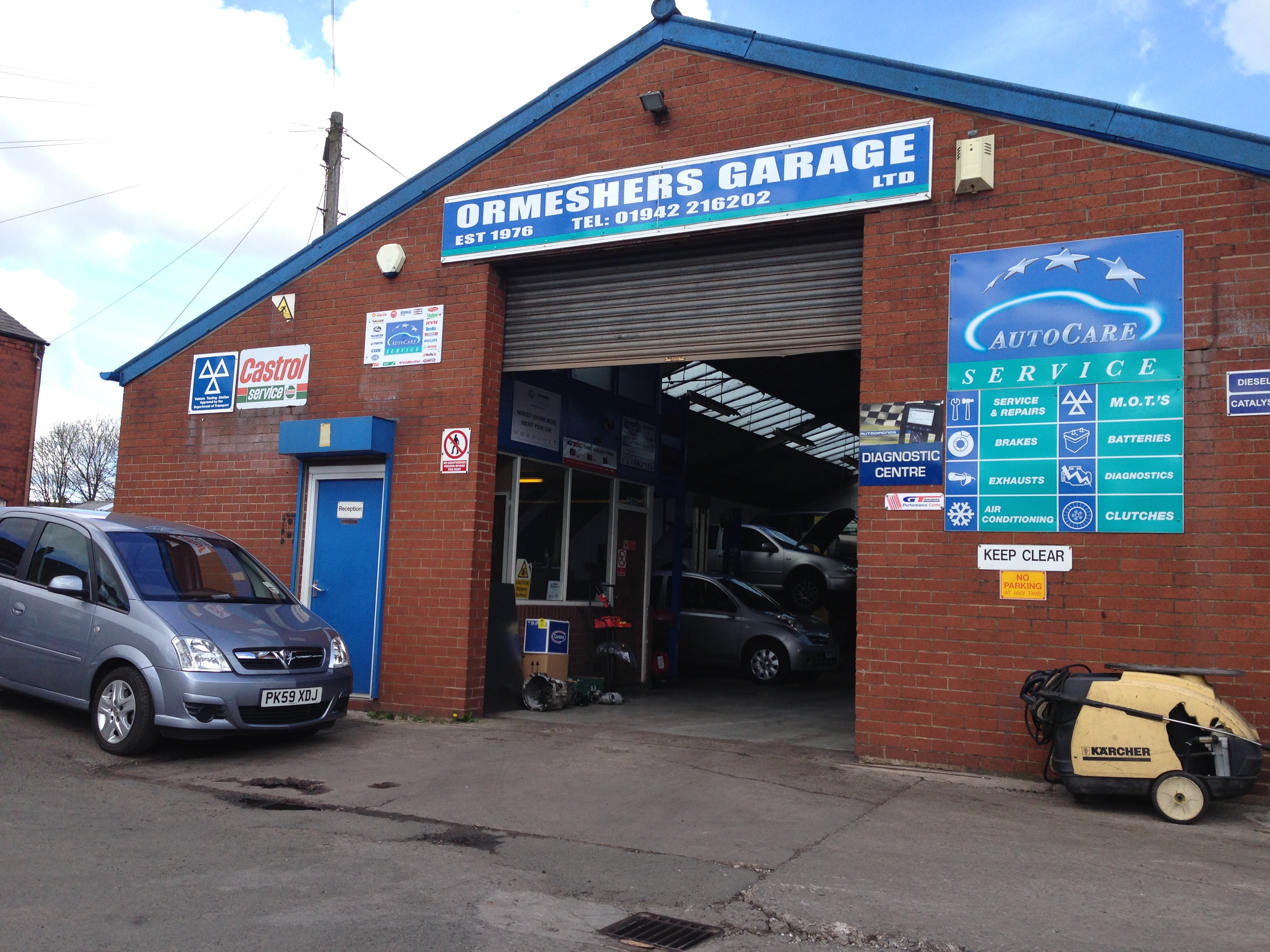 Ormeshers Garage Ltd